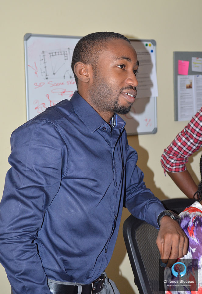 Chronos Studeos architect and 3D Animator Supervisor Hassan Anifowose