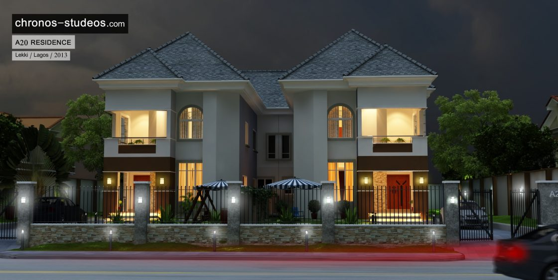 chronos studeos 3d rendering residential apartment house plan lagos architects (2)