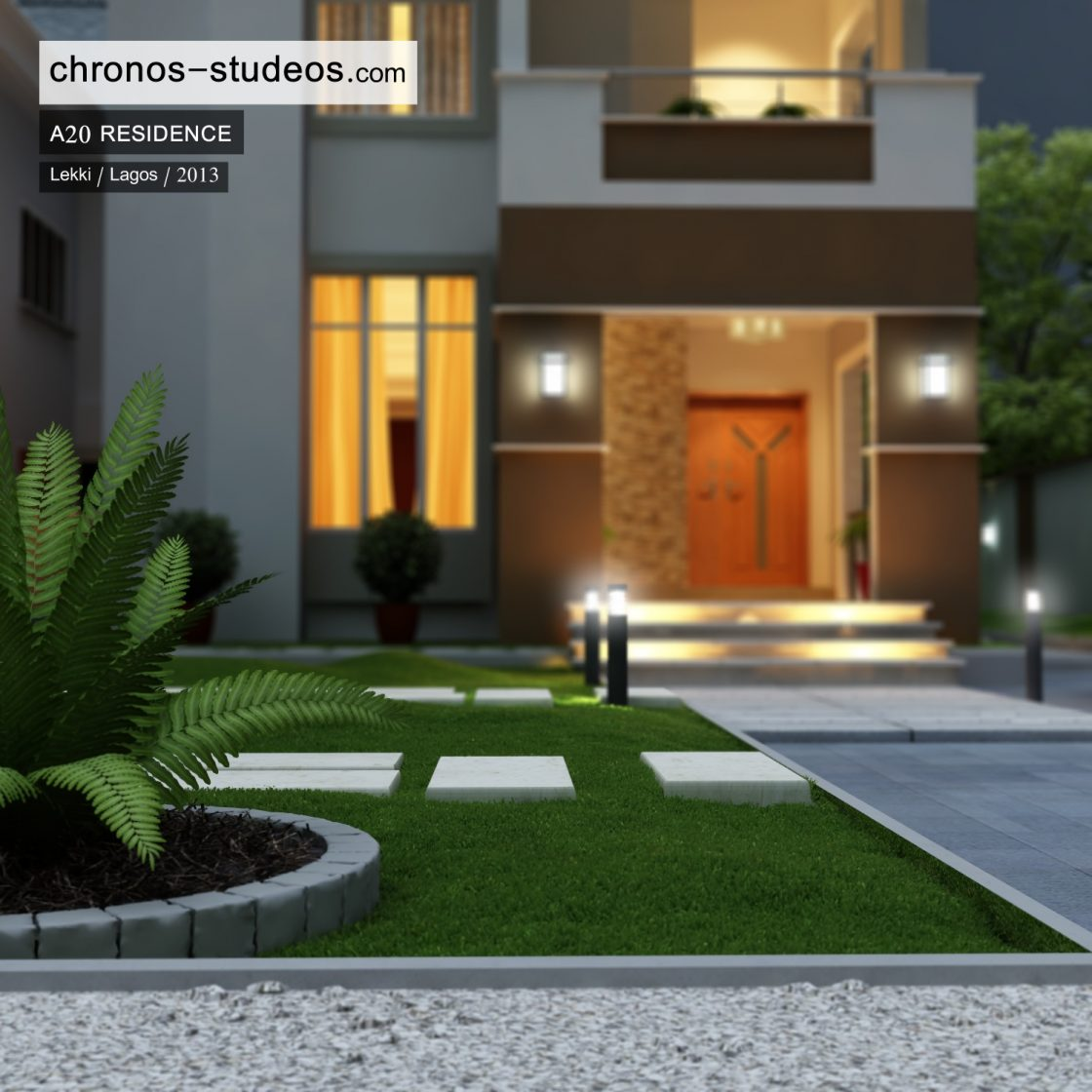 chronos studeos 3d rendering residential apartment house plan lagos architects (3)