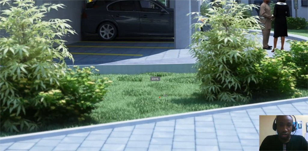 creating realistic grass