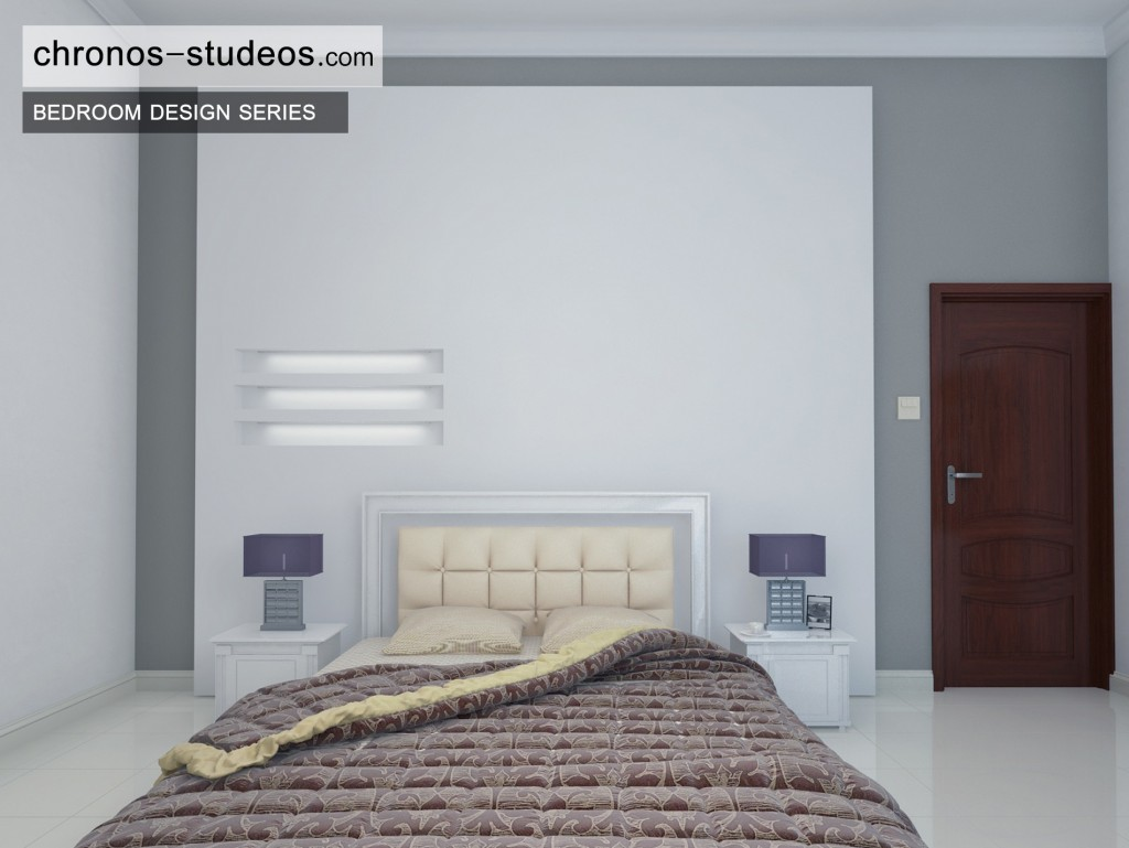 Stylish Bedroom 3D Visualization by Chronos Studeos Architects Designing stylish bedrooms for clients across Nigeria