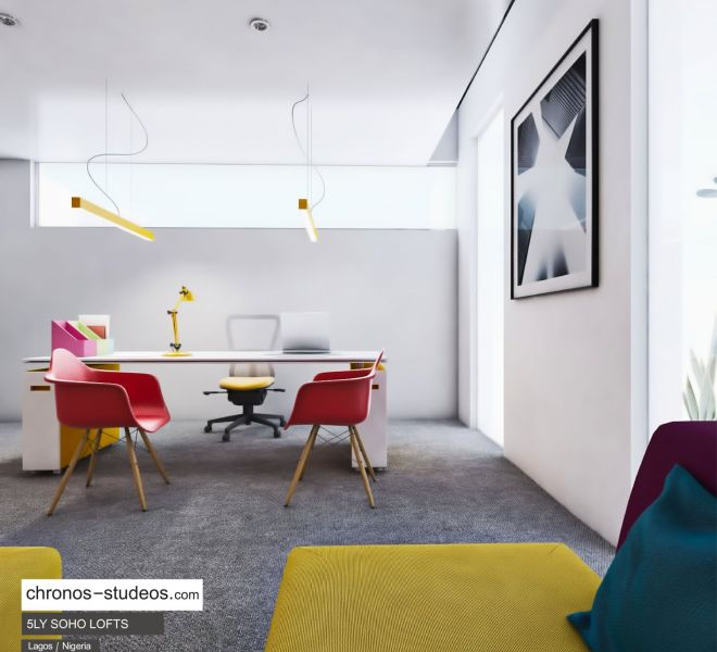 Chronos studeos Best 3D rendering company in Lagos Architecture Design for 5LY Soho Lofts Apartments Design Lekki Lagos (3)