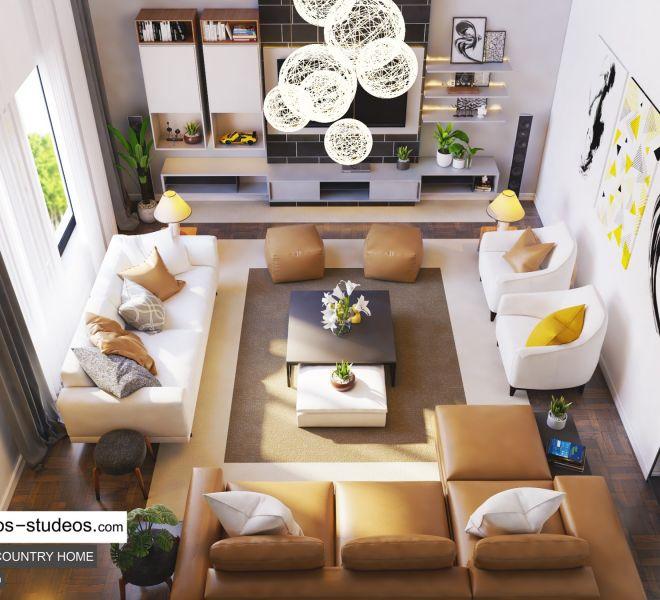 Big Private living room idea Chronos Studeos (1)