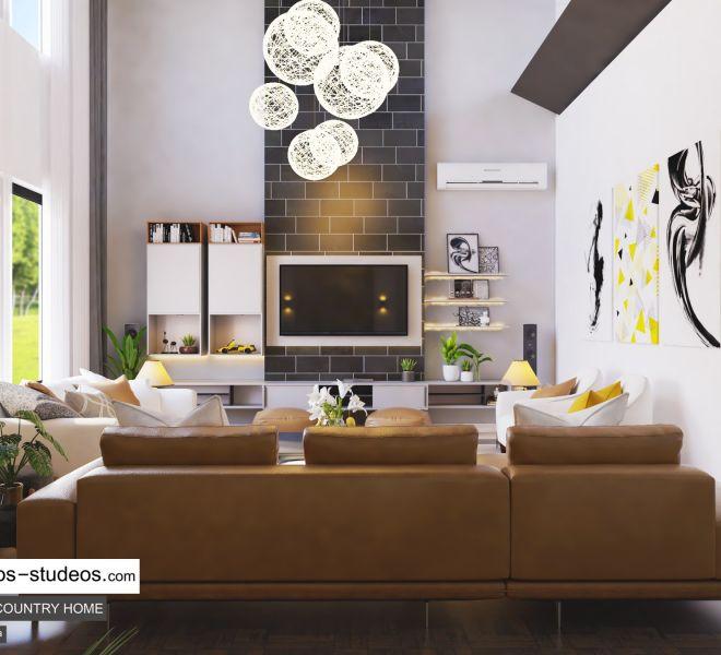 Big Private living room idea Chronos Studeos (2)