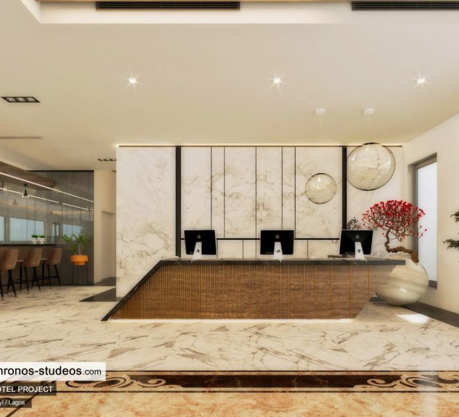 Chronos Studeos Queens Drive Hotel Design Lagos Architects Nigeria Reception Design
