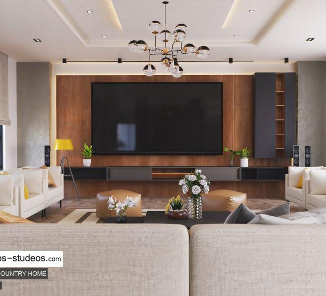 Living room design idea in Nigeria Abuja Port Harcourt Lagos Architect (2)