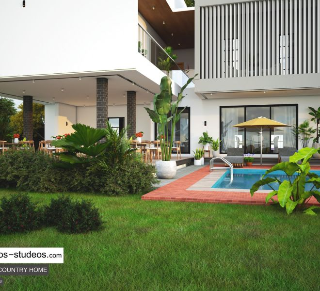 Modern Home Style Contemporary Design Family home Architect in Lagos Nigeria (8)