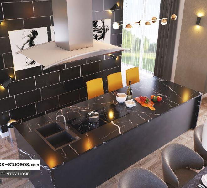 dining room area design by Chronos Studeos Architects interior designer in Lagos (3)