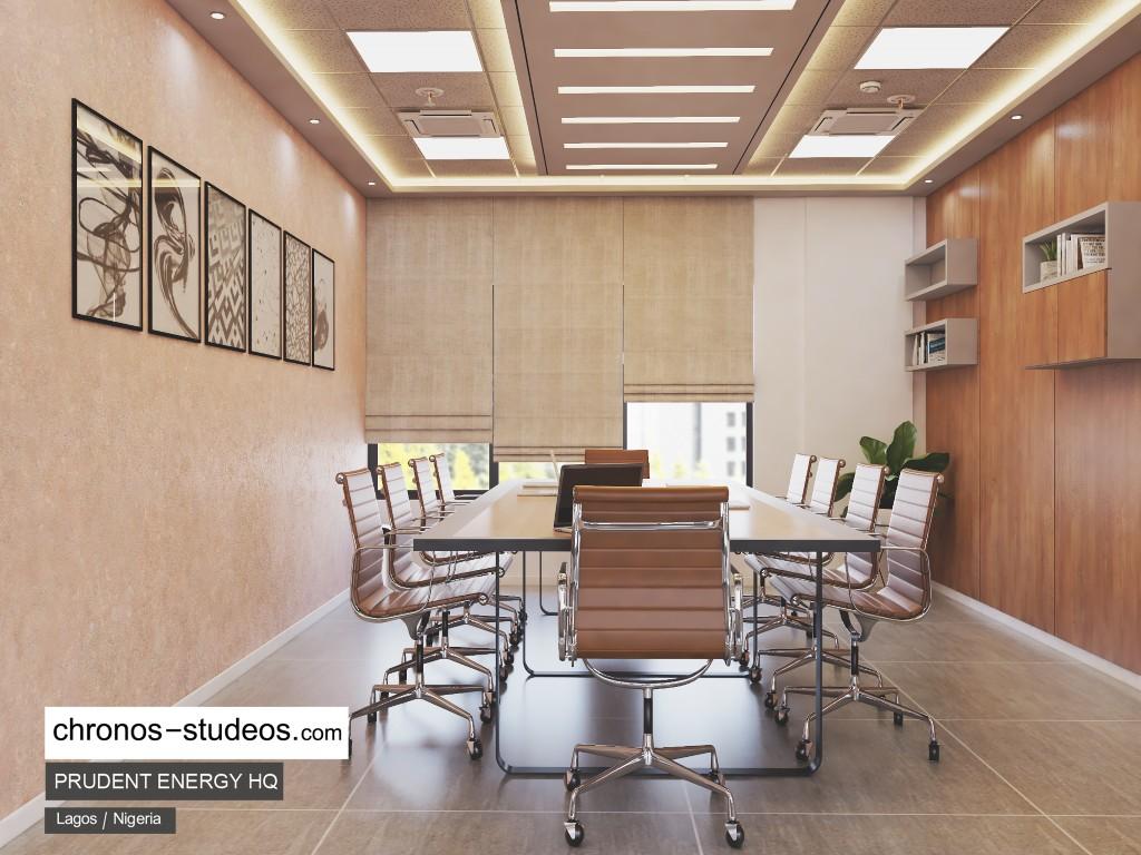 Prudent Energy HQ interior design | Chronos Studeos Architects