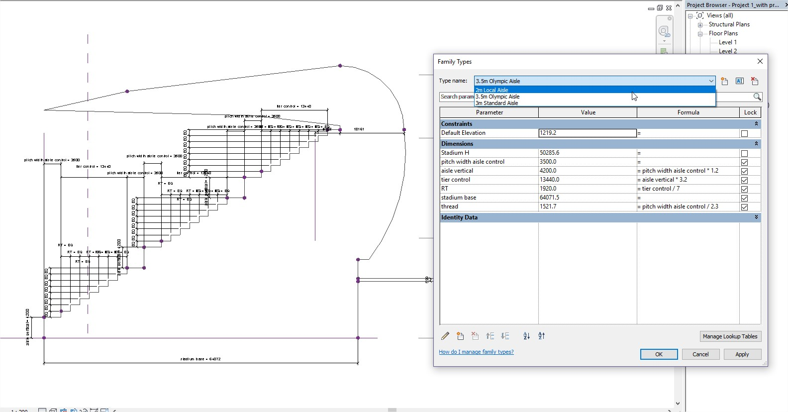 Allianz Arena - Parametric Modelling - sectional profile-1