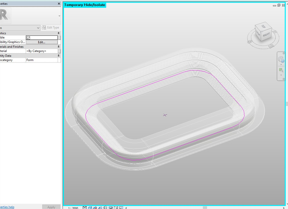 Allianz Arena - Parametric Modelling by Hassan Anifowose