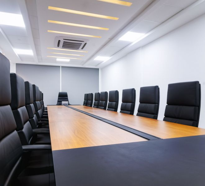 conference room - prudent energy headquarters