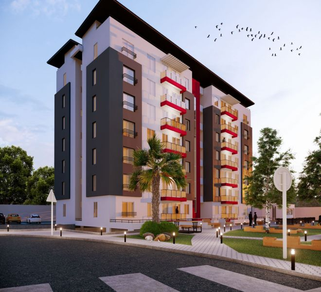 3D rendering Nigeria Chronos Studeos Emerald Apartments (1)