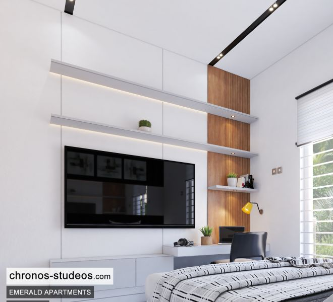 The Emerald Apartments One Bedroom Chronos Studeos Architects Home Design Ideas Lagos (1)