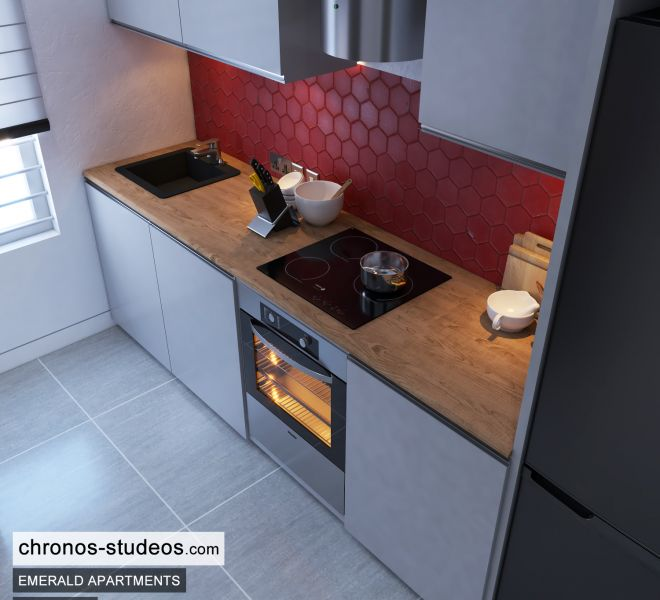 The Emerald Apartments One Bedroom Chronos Studeos Architects Home Design Ideas Lagos (2)