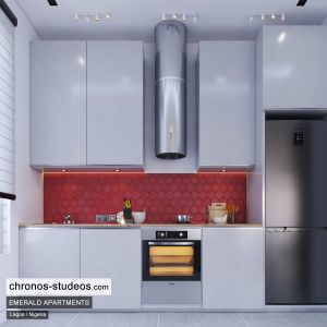 The Emerald Apartments One Bedroom Chronos Studeos Architects Home Design Ideas Lagos (3)