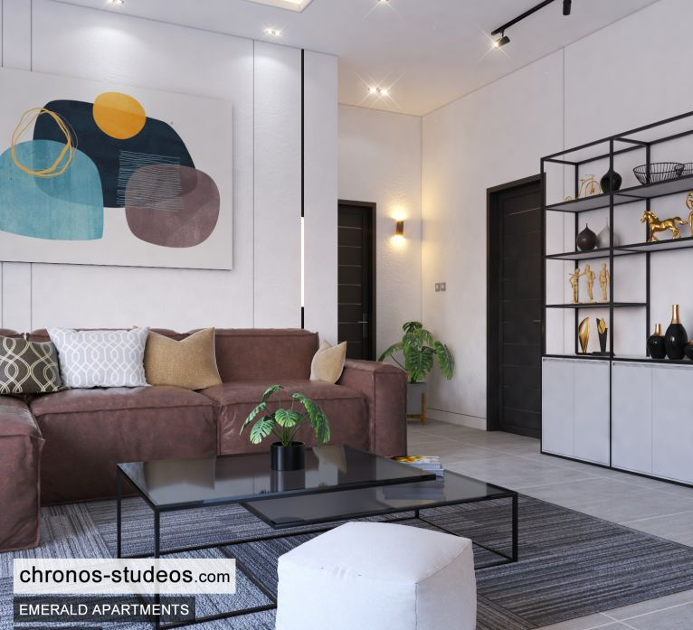 The Emerald Apartments One Bedroom Chronos Studeos Architects Home Design Ideas Lagos (5)