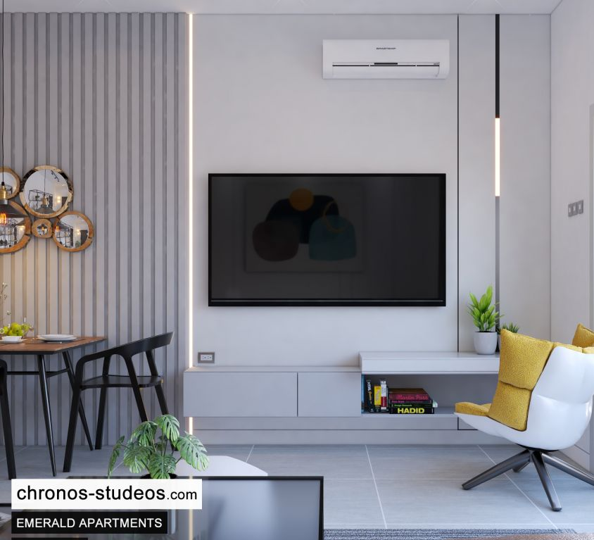 The Emerald Apartments One Bedroom Chronos Studeos Architects Home Design Ideas Lagos (8)