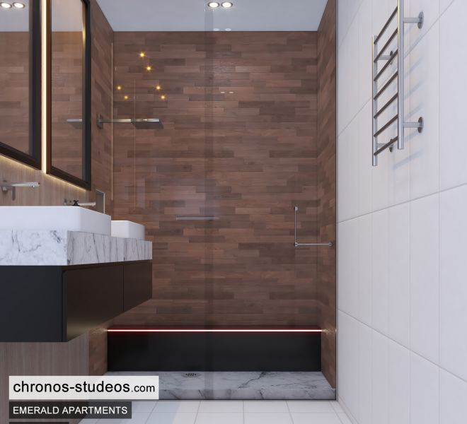 The Emerald Apartments Three bedroom Bedroom Design Ideas Chronos Studeos Architects (1)
