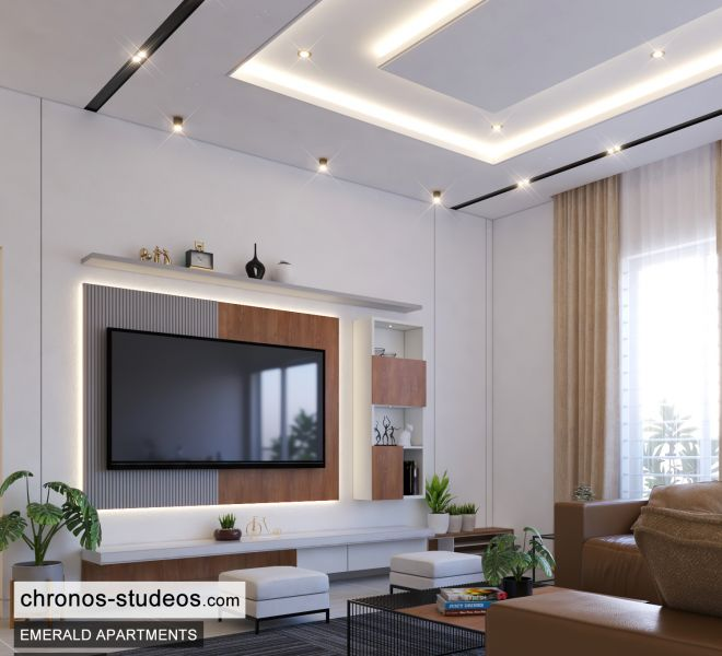 The Emerald Apartments Three bedroom Bedroom Design Ideas Chronos Studeos Architects (3)
