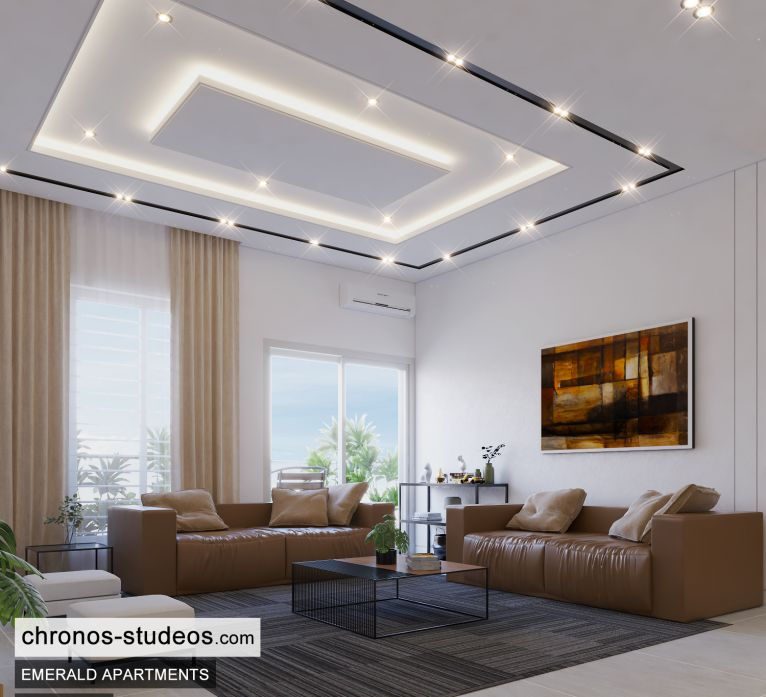 The Emerald Apartments Three bedroom Bedroom Design Ideas Chronos Studeos Architects (5)
