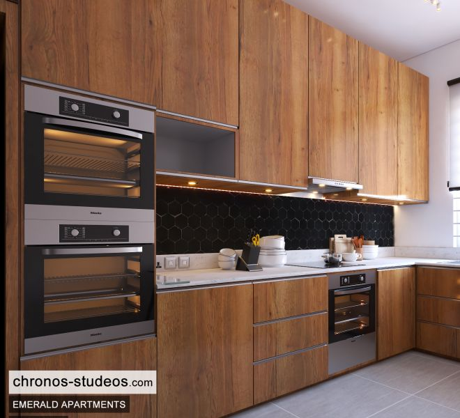 The Emerald Apartments Three bedroom Bedroom Design Ideas Chronos Studeos Architects (9)