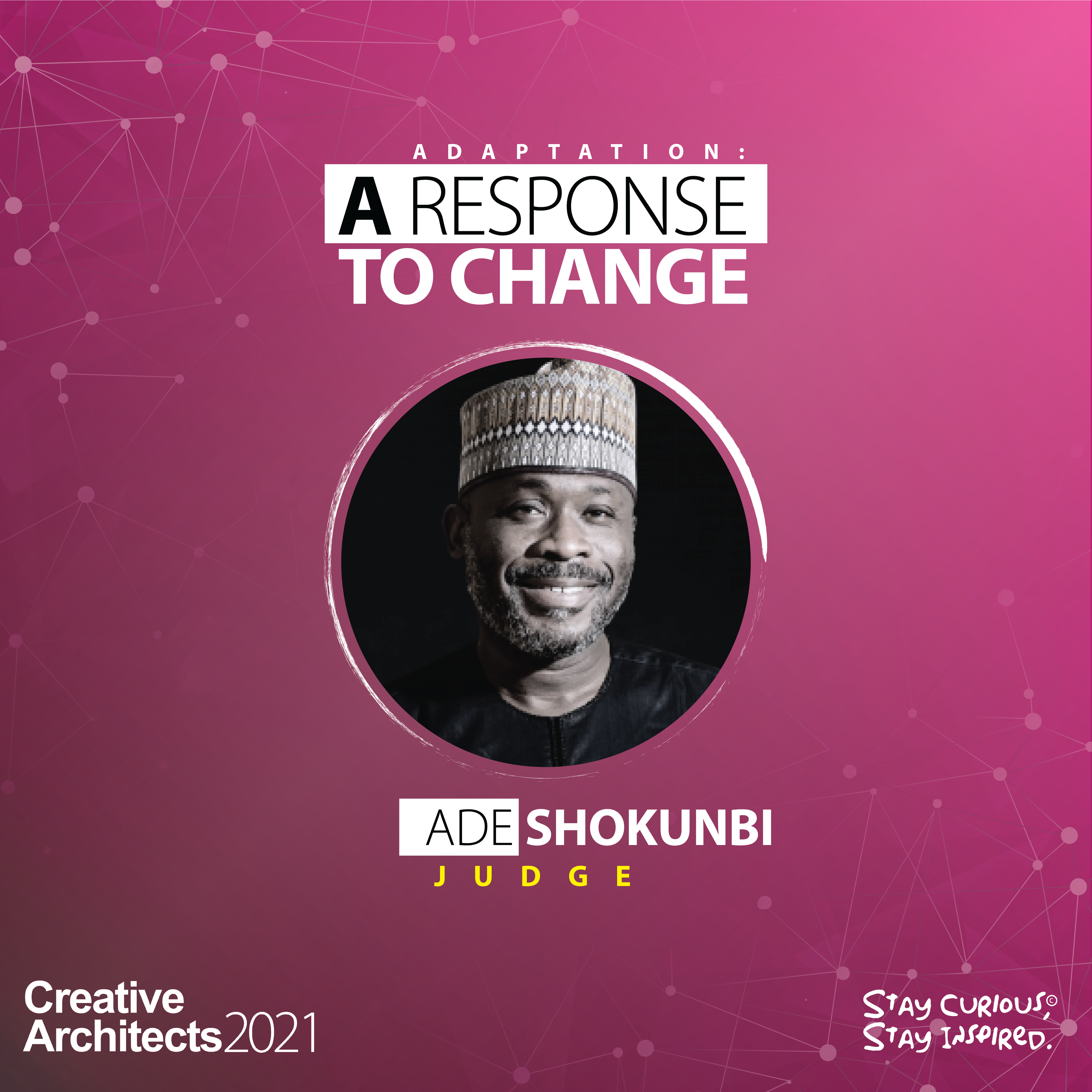 Ade Shokunbi - Creative Architects-The Competition-2021-Judge