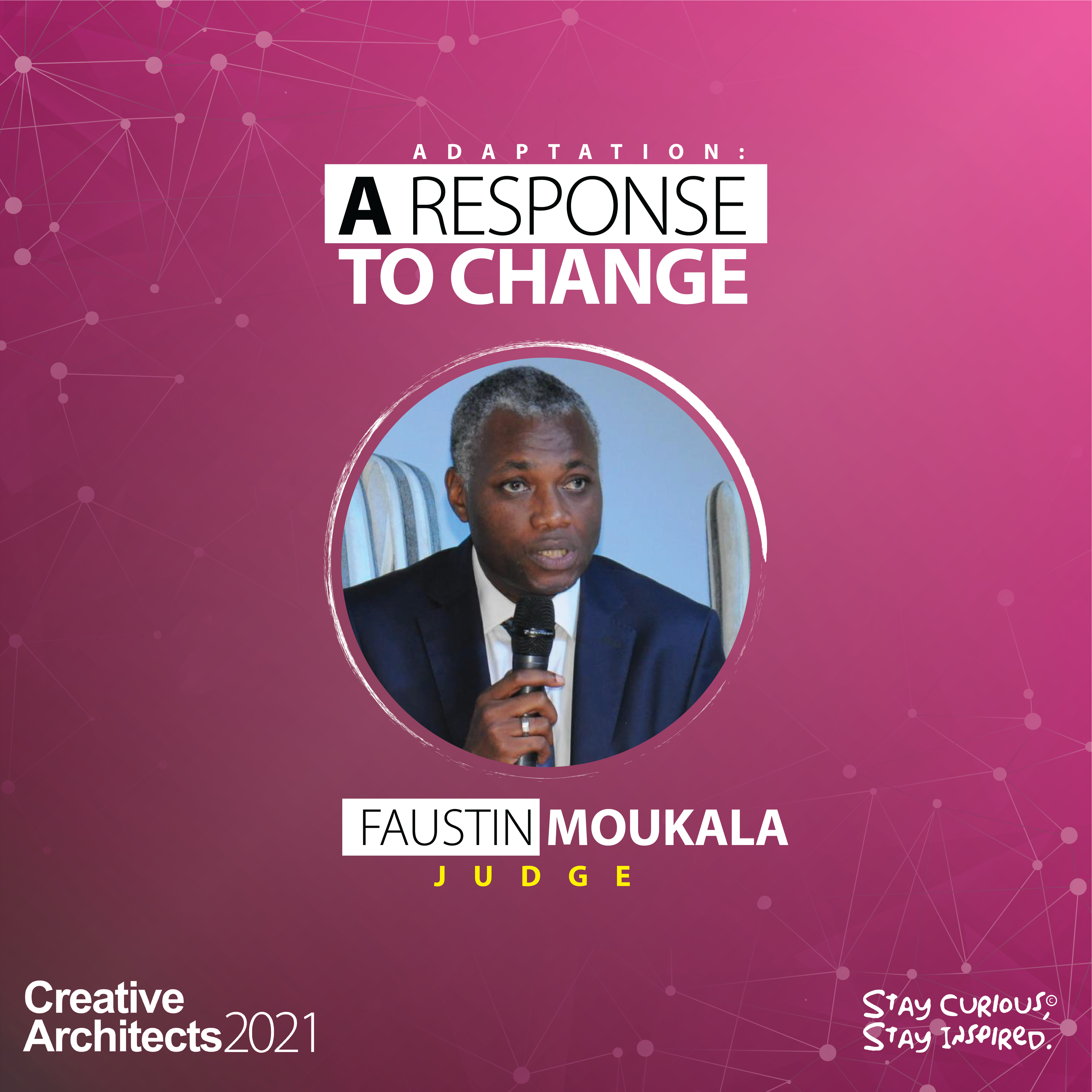 Faustin Moukala - Creative Architects-The Competition-2021-Judge