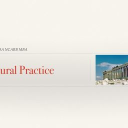 Architectural Practice - Mauricio Amado at Creative Architects - Chronos Studeos